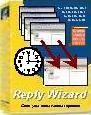 reply wizard, time saving, office automation, repetition, standard reply, standard replies, standard response, email automation, standard reply, reply template, email template, standard letter, automatic email, helpdesk email system, office administration